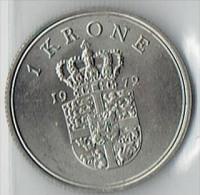 1 KRONE FROM 1972 - Dänemark