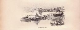 1896 - Gravure Sur Bois - Toulon (Var) - Le Mourillon - FRANCO DE PORT - Non Classés