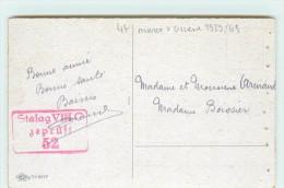 CACHET CAMP EN ALLEMAGNE - Stalag VIII C 52 - Marcofilie (Brieven)