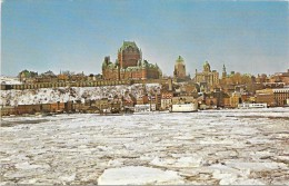 QUEBEC - CANADA  La Traverse En Hiver - Québec - Les Rivières
