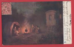 Le Camp Des Gitanes - Série 381 Collection Recherché - Tuck, Raphael