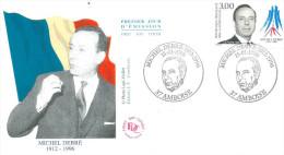 Amboise  15 01 1998 Michel Debré - FDC