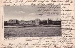 Alte AK  ONOD / Ungarn  - Onodi Varrom - Gelaufen 1905 / Postalisch Interessant !!! - Hongrie