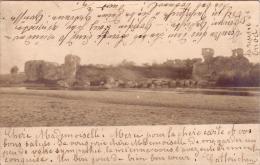Alte AK  ONOD / Ungarn  - Onodi Varrom - Gelaufen 1904 / Originalfoto- AK !!! - Hongrie