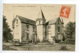 Port Sainte Foy Château De Mézières - France