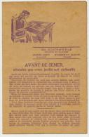 Wanze Huy Pub Graines Ch. Gonthier St Quentin Aisne France Facteur - Wanze