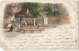 La Grotte/Sirven / Toulouse/ Lyon/1900   CPDIV212 - Lourdes