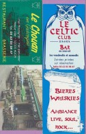 Marque-page °° Resto-Brasserie Le Chouan Auch - Celtic Club  6x17 - Marque-Pages