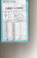 Carnet A Choix   France Obl Voir Scan Frais De Port  Pour La France 1.5 - Stamps