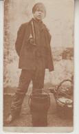 1912 TYPES NAPOLITAINS - RAGAZZO NAPOLETANO  - FOTOGRAFICA --- R0357 - Personaggi