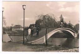 D5837      SENFTENBERG : Brücke über Die Schwarze Elster - Senftenberg