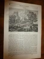 1847 MP Gravure Tableau De Poussin Par WIESENER; Découpures Ou Ombres Eclairées; Les Vérités Contredisent Nos Passions - 1800 - 1849