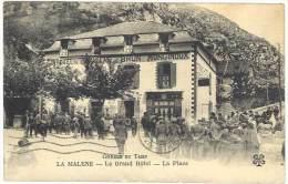 Lozère - La Malène - Le Grand Hôtel, La Place - France