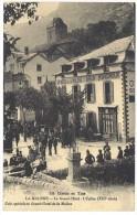 Lozère - La Malène - Le Grand Hôtel, L'église - France