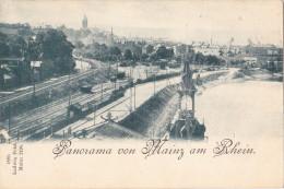 Panorama Von Mainz Am Rhein.1899 - Mainz