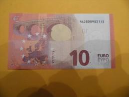 Billet De10 Euros   AUTRICHE UNC    N002H2 Serie NA  M D - EURO