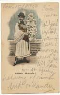 Remenyi Udvozlet Parisbol Hungarian Postcard Dealer In Paris 1900 Exhibition Marchand De Cartes Postales - Hongrie