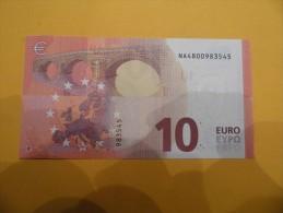 Billet De10 Euros  AUTRICHE UNC N002H4 SerieNA  M D - EURO