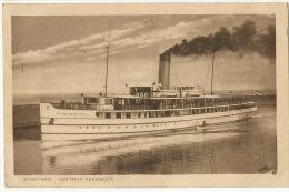 """Stavoren Vertrek Veerboot P. Used Edit Koopman Ship """" Hasselt """" - Stavoren"""