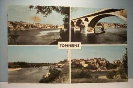 TONNEINS   --- Vue Générale   - Multivues - Tonneins