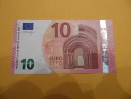 BILLET DE 10 EUROS AUTRICHE N 002 H3 SERIE NA  M DRAGHY  UNC - EURO