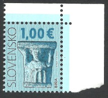 Slovakia, 1 E. 2009, Mi # 603, MNH, Definitives - Slovaquie