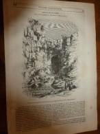 1847 MP Cascade De La Roumel (Constantine);Moutarde De Dijon; Maison De Hebel à Hausen; Carlsruhe;Amusements Louis XIV - 1800 - 1849