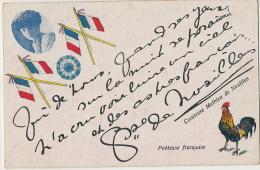 Comtesse Mathieu De Noailles  Anna Bibesco Bassaraba De Brancovan WWI Card From Argentina - Roumanie