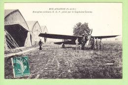 BUC  AVIATION : Monoplan Militaire R.E.P. Piloté Par Le Capitaine Camine. 2 Scans. Edition Bourdier - Buc