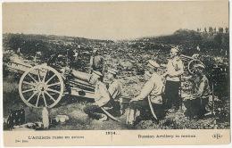 WWI Russian Artillery In Motion ELD 1914 - Russia