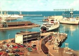 "# Aarhus - The Harbour With The Motor Ferry "" Prinsesse Elisabeth"" - Danimarca"