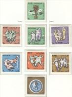 YEMEN ARAB REPUBLIC Perforated Set Mint Without Hinge - 1966 – Inglaterra