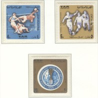 YEMEN ARAB REPUBLIC Perforated Postage Due Set Mint Without Hinge - 1966 – England