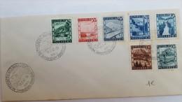 AUTRICHE:FDC Enveloppe Cachet 13/2/47 - FDC