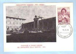 1973 - Onoranze Ad Enrico Caruso - Lastra A Signa - Numerata - 6. 1946-.. Republik