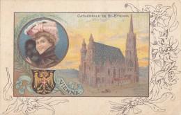 Autriche - Wien Vienne - Cathédrale Saint-Etienne - Femme Edelweiss - Non Classés