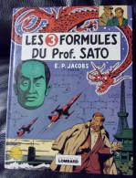 Blake Et Mortimer. Les 3 Formules Du Prof.Sato  Lombard 1977 TTBE - Blake Et Mortimer