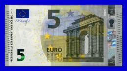 """5 EURO """"SA"""" ITALY SIGNATURA DRAGHI  S001G2 UNC - EURO"""