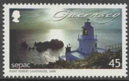 Guernsey Baliwick 2007 Mi 1153 ** Point-Robert, Sark - Lighthouse / Leuchtturm / Vuurtoren / Phare - SEPAC - Vuurtorens