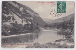 Bolozon  Cpa  La Rivière D'Ain Le Bugey Pittoresque Envoyée En 1910 - Francia