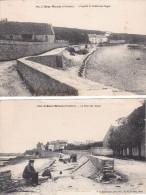 2 Cartes De L'ABER-WRACH Baie, Chapelle Et Grève Des Anges - France