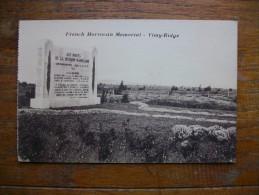 Vimy , Mémorial Aux Morts De La Division Marocaine - Otros Municipios