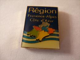 PINS REGION PROVENCE ALPES CÔTE D'AZUR / LOGO / 33NAT - Villes