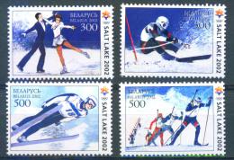 TH_ Belarus 2002 Olympic Games Salt Lake City 4v MNH - Winter 2002: Salt Lake City