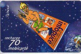 Infocote Recharge 70 Mobicarte MOBI Pu68 Carte Card  (214) - Frankrijk
