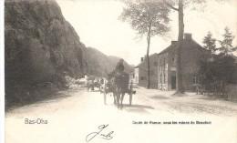 (D8 - 105-106 - ) Bas-Oha - Route De Namur Sous Les Ruines De Beaufort - Wanze