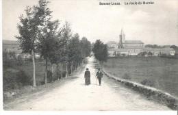 (Pers1 - 3-4 - ) Somme-Leuze - La Route De Marche - Somme-Leuze