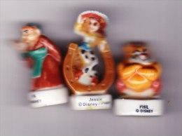 3 Feves Disney Fâ, Phil, Jesse - Disney