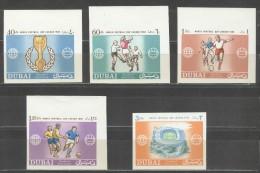 DUBAI Imperforated Set Mint Without Hinge - 1966 – Inglaterra
