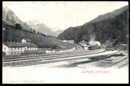 1260 - Ohne Porto - Alte Litho Ansichtskarte - Bahnhof Langen Arlbergbahn- Gel 1903 - Stempel - Klösterle